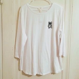 NWT Long Sleeve Lounge Shirt